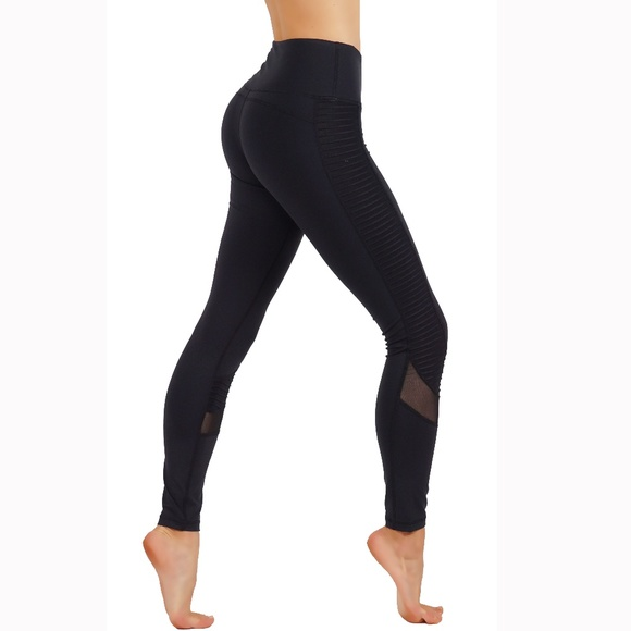 4f89e0e587faf Pants   Workout Leggings Witch Mesh Cutouts 300   Poshmark